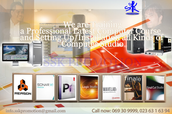 a SSK studio raininng and installation services copy