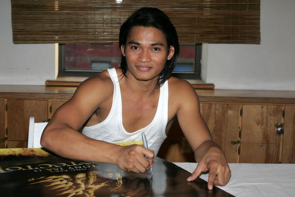 Martial Arts Action Hero Tony Jaa Promotes The Protector At Wat Gym